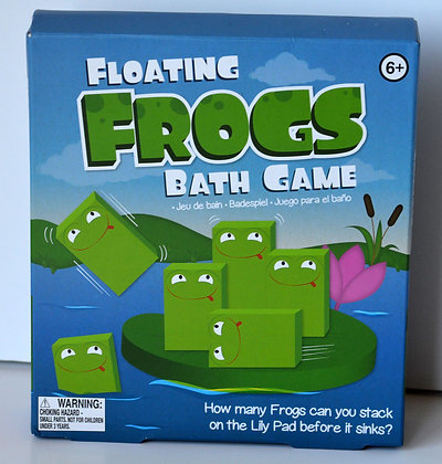 Floating Frogs Bath Game