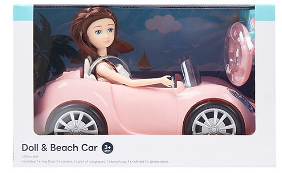 Doll & Beach Car