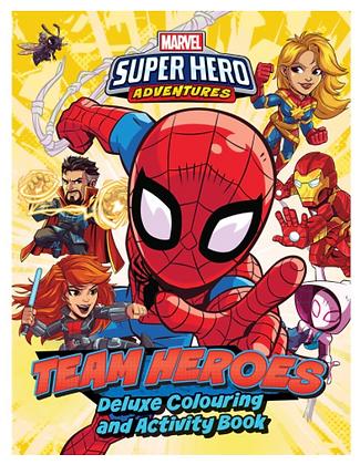 Marvel Super Hero Adventures Colouring & Activity Book