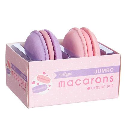 Smiggle Jumbo Macaron Erasers