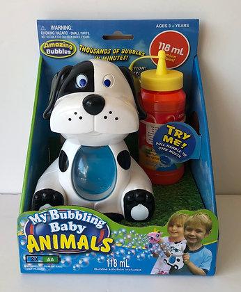 Baby Animal Bubble Machine