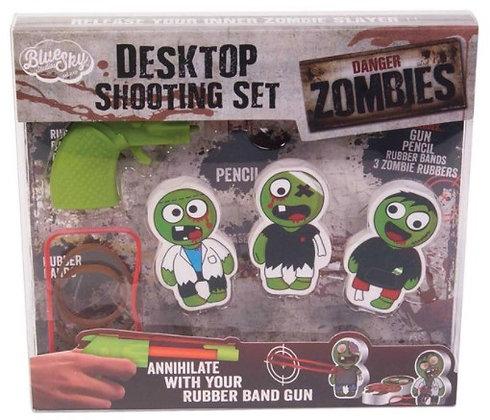 Desktop Shooting Set - Zombies