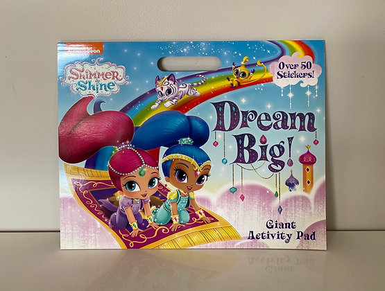Shimmer & Shine Giant Colouring Pad