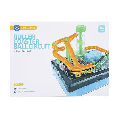 Build Your Own Roller Coaster Ball Circuit