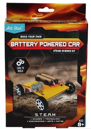 Build Your Own Battery Powered Car