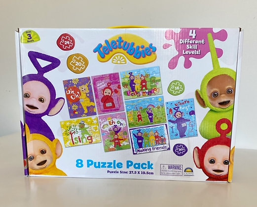 Teletubbies 8 Puzzle Pack