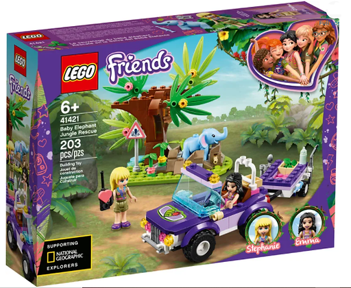 Lego Friends - Baby Elephant Jungle Rescue
