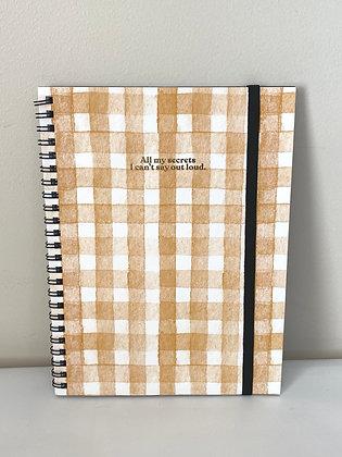 Orange A5 Notebook