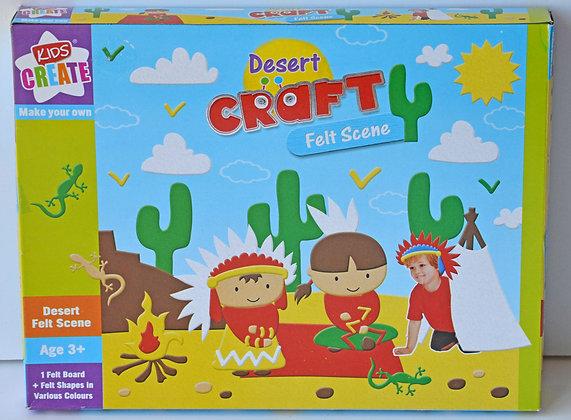 Felt Craft Scene - Desert