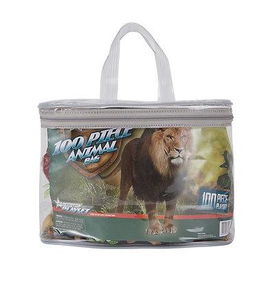 100 Piece Animal Bag