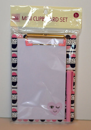 Mini Clipboard Set