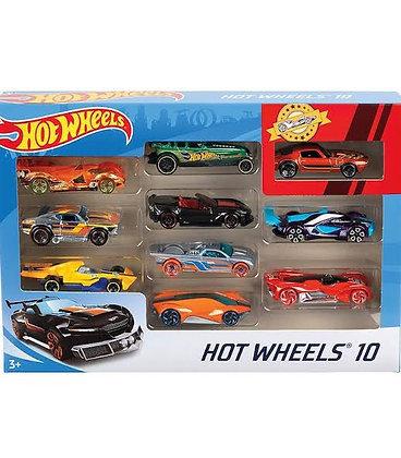 10 Pack Hot Wheels