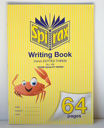 Writing Book - Dotted Thirds