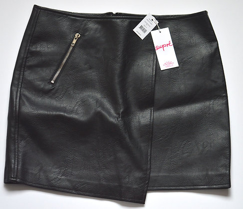 Supre Leather Look Skirt