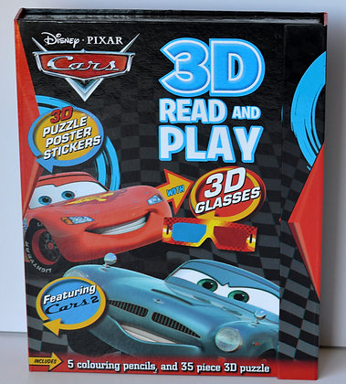 Cars 2 3D Read & Play Activity Book