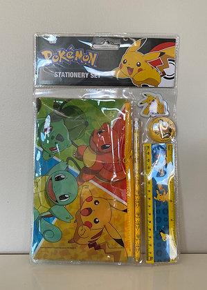 Pokemon Stationery Set