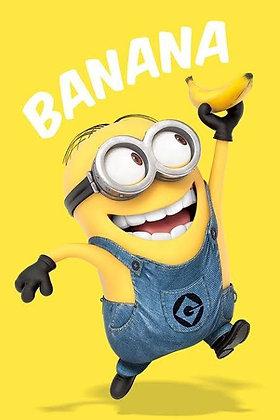 """Minions """"Banana"""" Large Poster"""