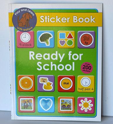 Ready for School Sticker Book