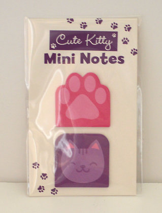 Cute Kitty Mini Notes