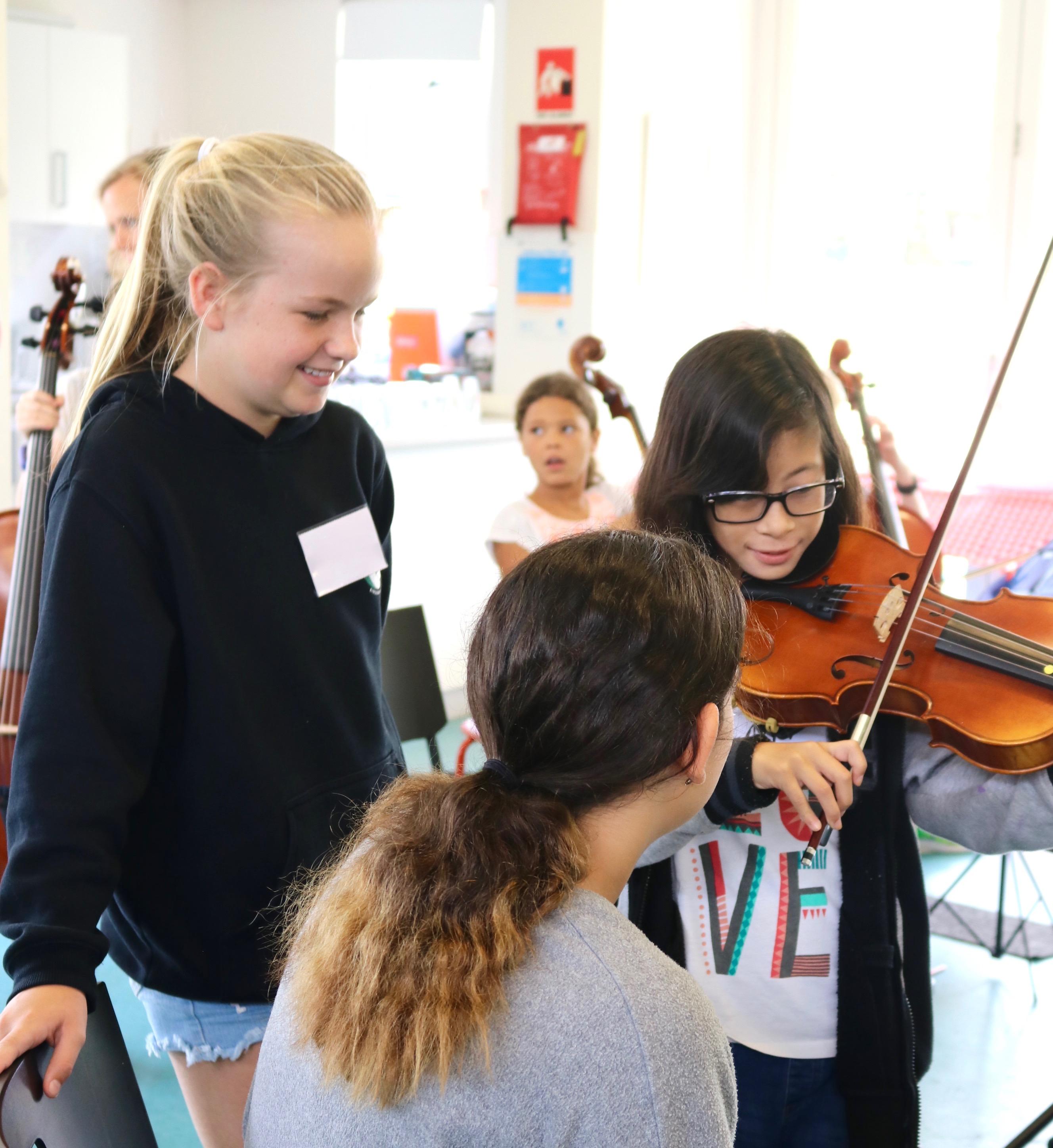 Violin Summer Camps 2020.Perth Summer Orchestra Camp 2020