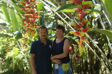 Peter & Marja will try to make your stay in the jungle unforgettable. | Cacatua Lodge | Uvita, Costa Rica