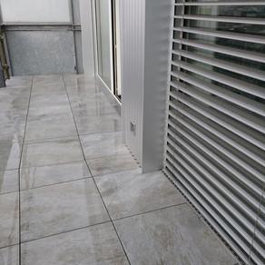 Étanchéité de balcon avec revêtement Design