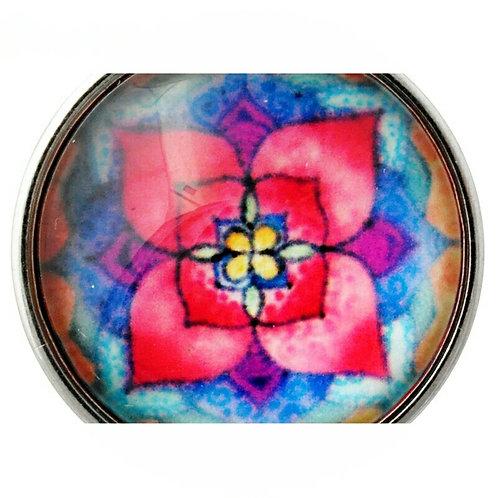 Multicolor Floral Snap