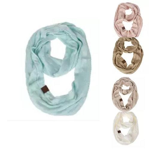 CC Infinity Knit Scarf