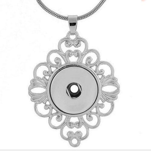 Diamond Lattice Necklace