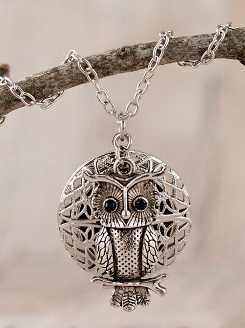 Owl Diffuser Necklace