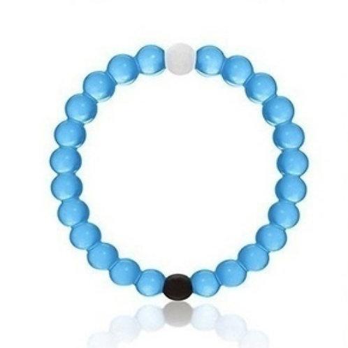 Blue Silicone Lokai Bracelet - Find Your Balance