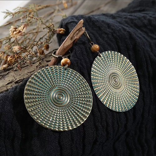 Boho Circle Earrings