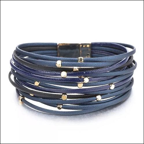 Blue Gold Bracelet