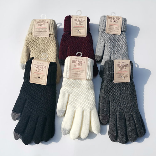 Knit Touch Screen Gloves