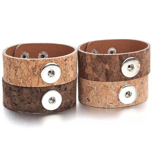 Corky Leather Bracelet
