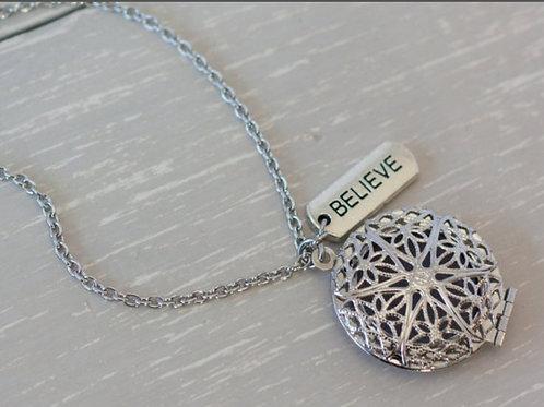 Believe Diffuser Necklace