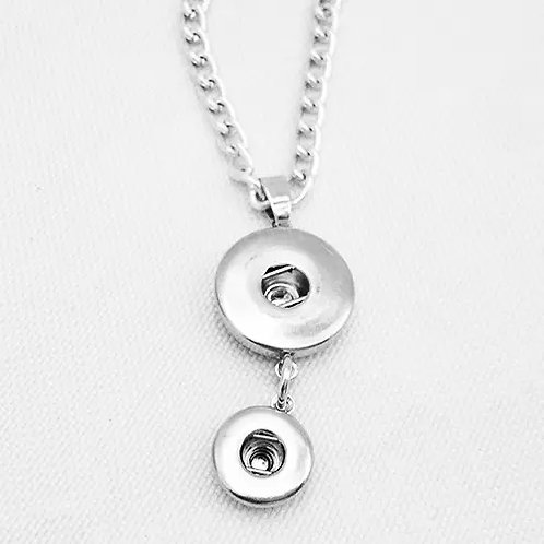 Double Snap Necklace