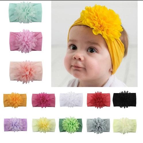 Chiffon Floral Headbands