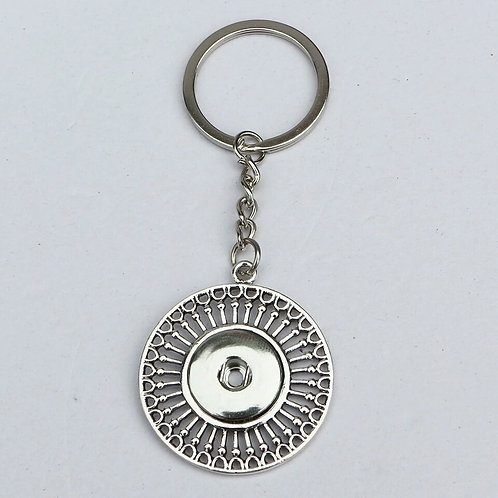 Decorative Round Key Chain