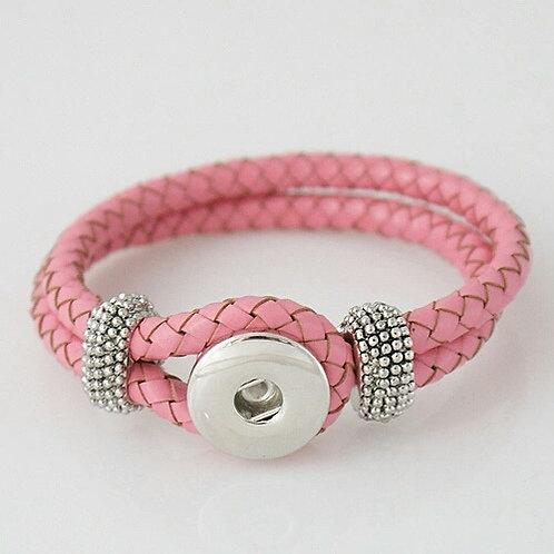 Leather Braid Bracelet
