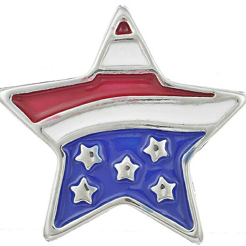 Red/White/Blue Star Snap