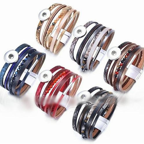 Multilayer Leather Bracelet