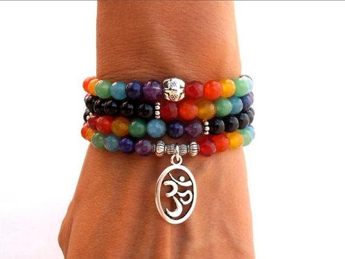 Mala Chakra Bracelet/Yoga Meditation Bracelet