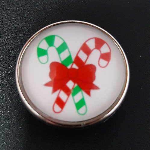 Red/Green Candy Cane Snap