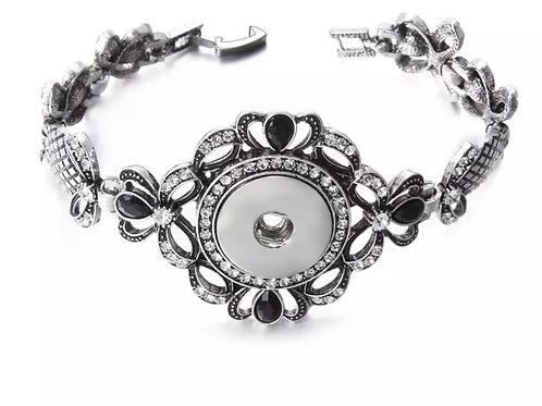 Heart & Bow Bracelet