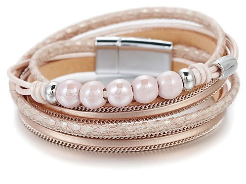 Rose Wrap Bracelet