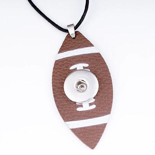 Football Snap Necklace