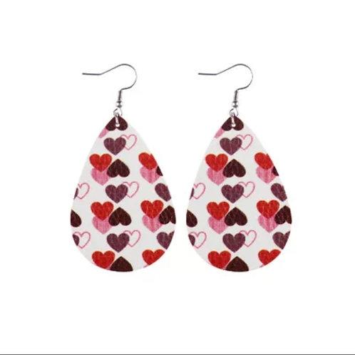 Multi Heart Earrings