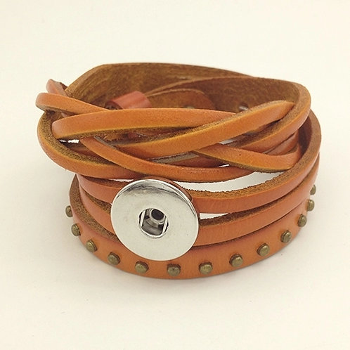 Light Brown Wrap Bracelet