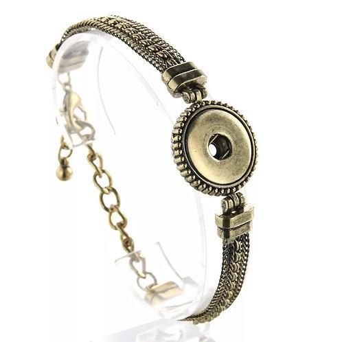 Antiqued Gold Bracelet